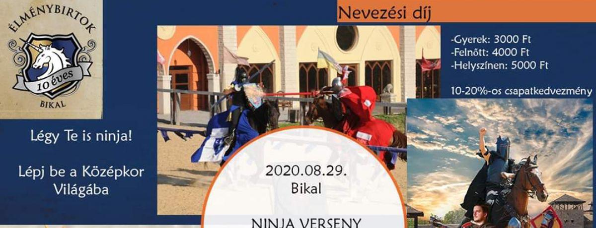 NINJA Verseny Bikal